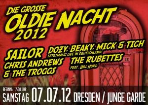 Sailor live in Dresden 07/07/2012